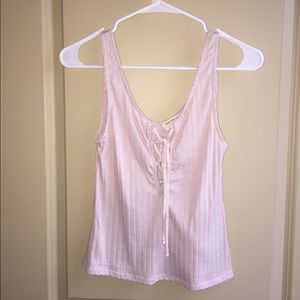 Light pink tank from Urban Outfitter